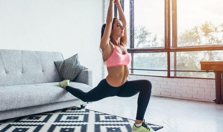 Buenos hábitos para mantenerse en forma sin salir de casa